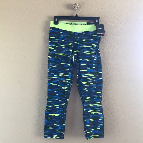 961132fb03fed Nike Pants | Drifit Camo Running Compression Tights | Poshmark